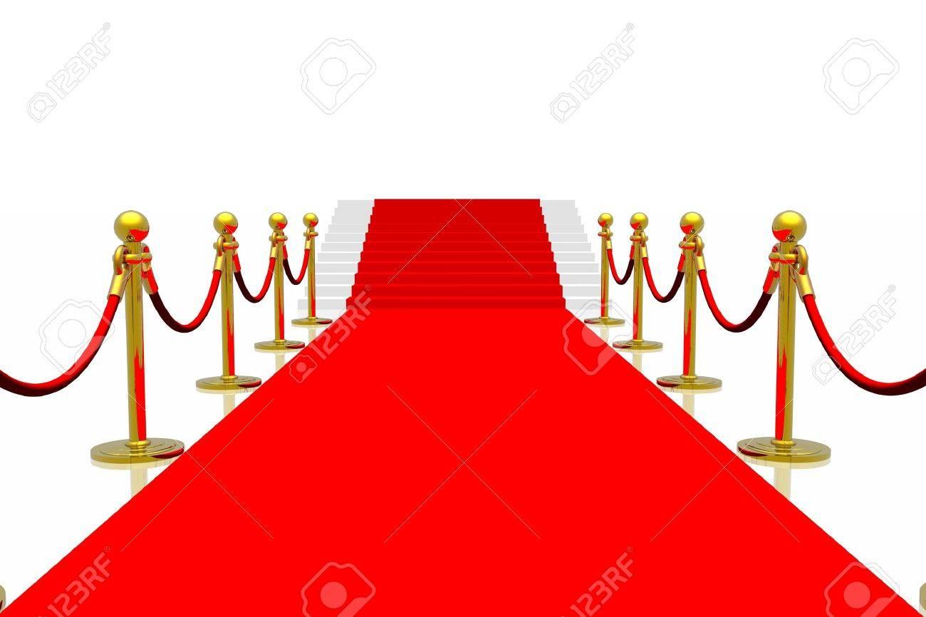 Red carpet Stock Photo - 2215586