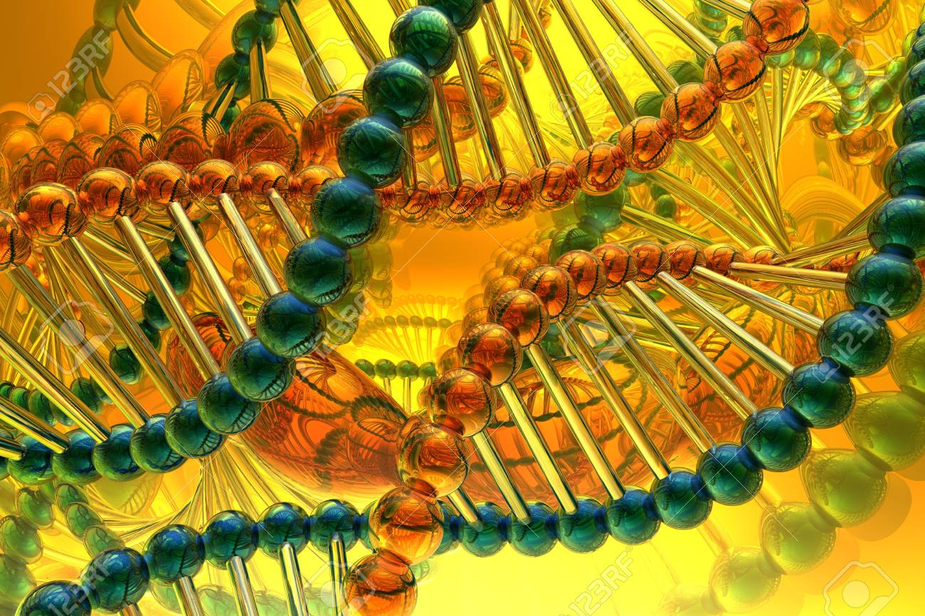 dna spiral Stock Photo - 3885005