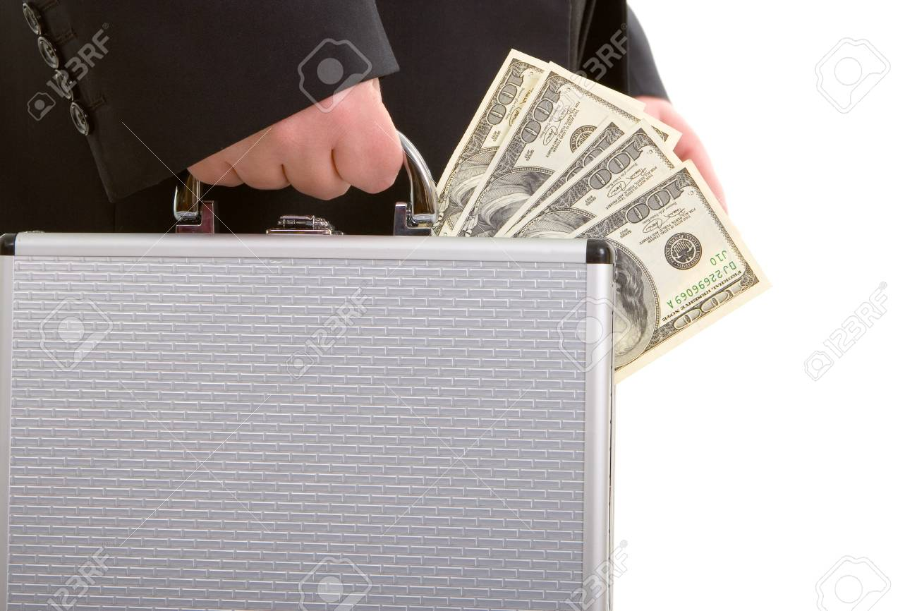 business man and money Stock Photo - 4244148