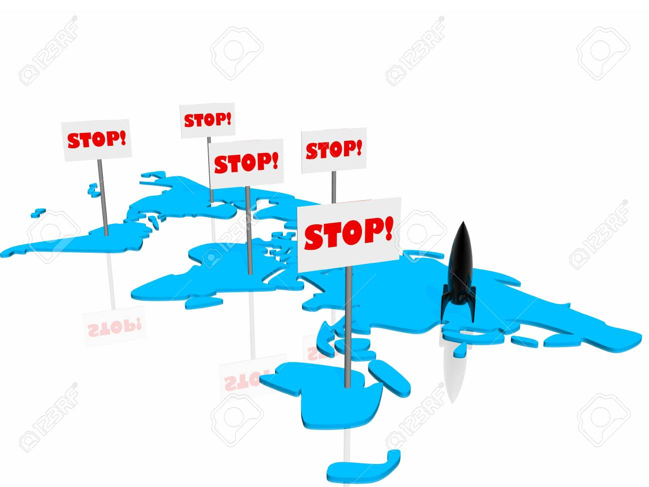 Stop on the war Stock Photo - 4530075