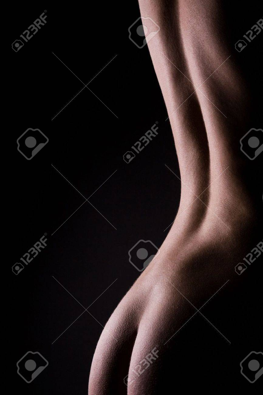 classic low key photo of sexy woman body Stock Photo - 5613501