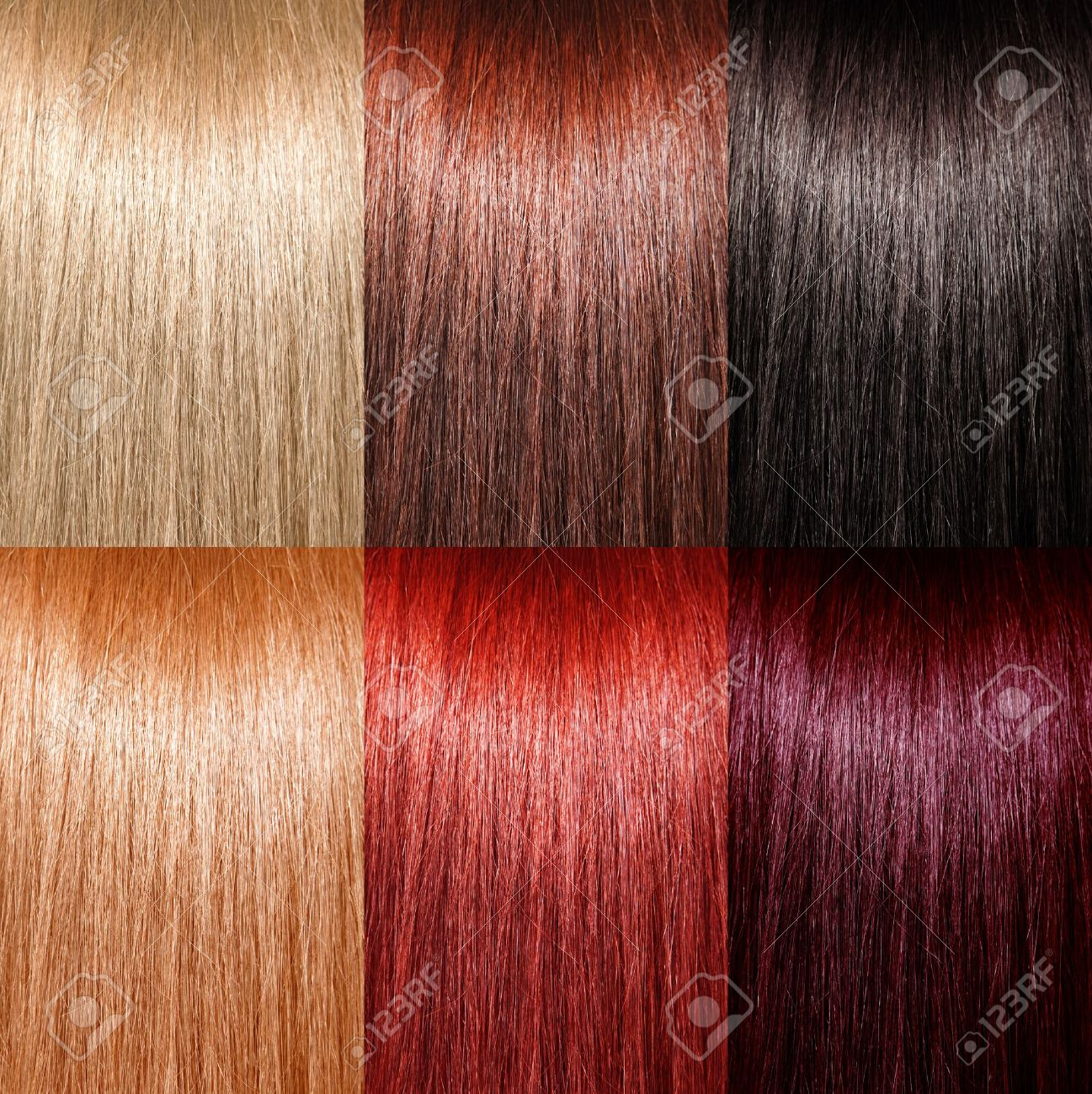 Fabulous Example Of Different Hair Colors Stock Photo Picture And Royalty Short Hairstyles For Black Women Fulllsitofus