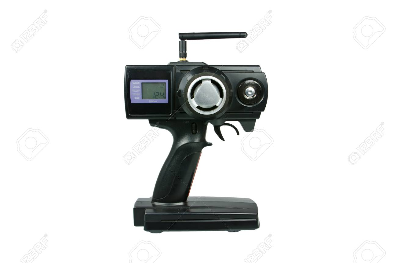 Radio controlled (RC) transmitter for model cars Stock Photo - 19404117