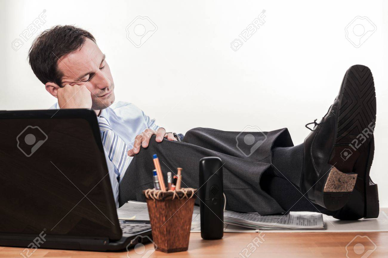 office situations   expressions Stock Photo - 21324844