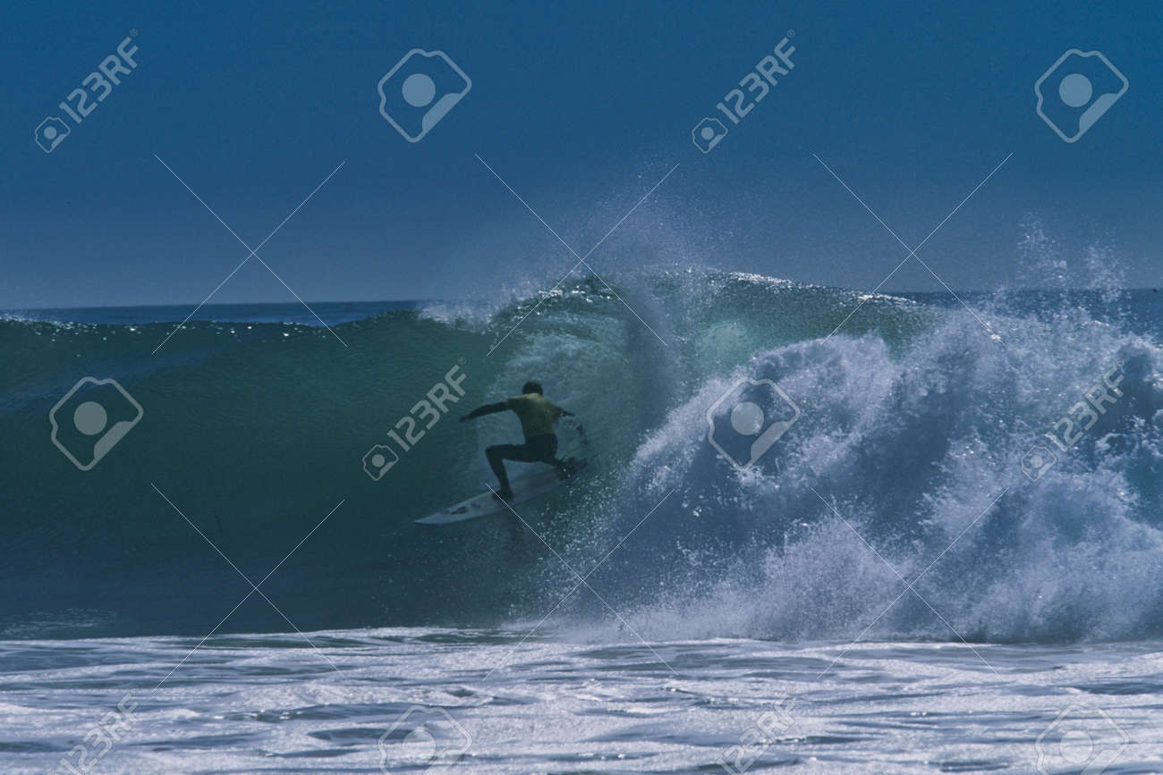 Rincon classic surfing contest in 2001 - 154854442