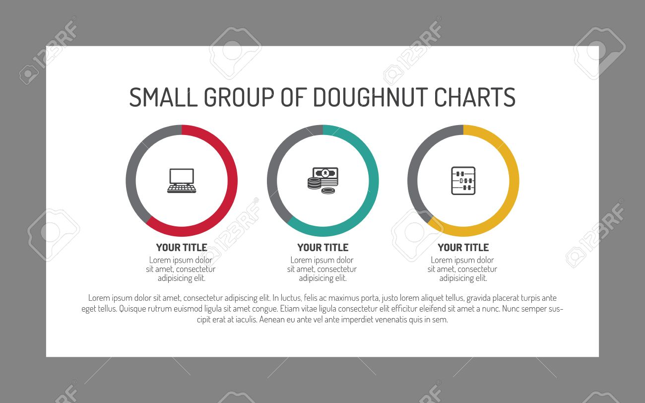 Editable infographic template of small group of doughnut charts editable infographic template of small group of doughnut charts stock vector 51164068 ccuart Gallery