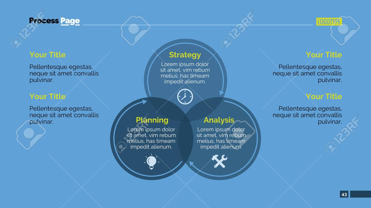 Editable presentation slide template of circular diagram with editable presentation slide template of circular diagram with three overlapping circles with icons headers ccuart Choice Image