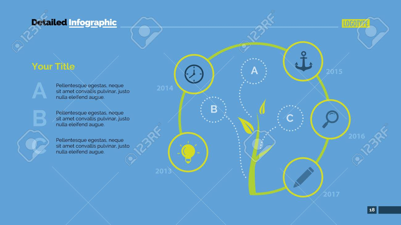 Tree Cycle Metaphor Diagram Element Of Chart Presentation
