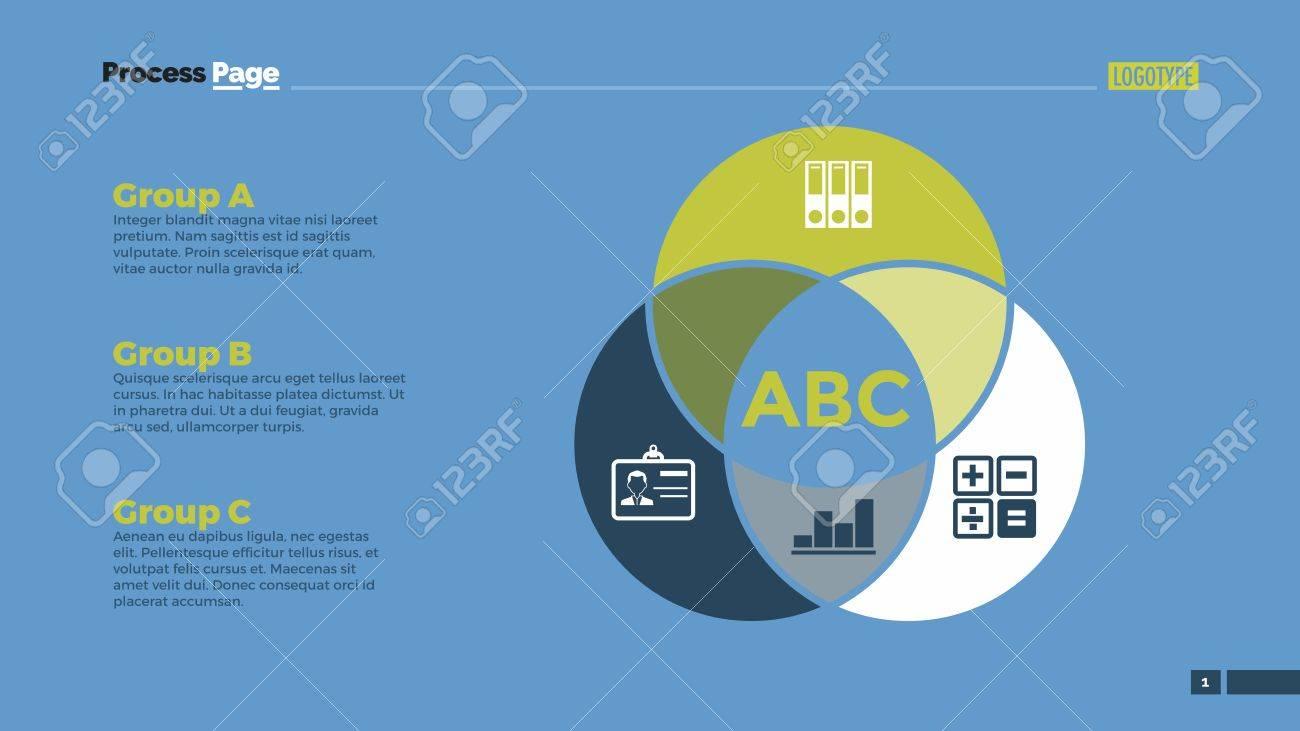 teamwork venn diagram with icons element of presentation diagram