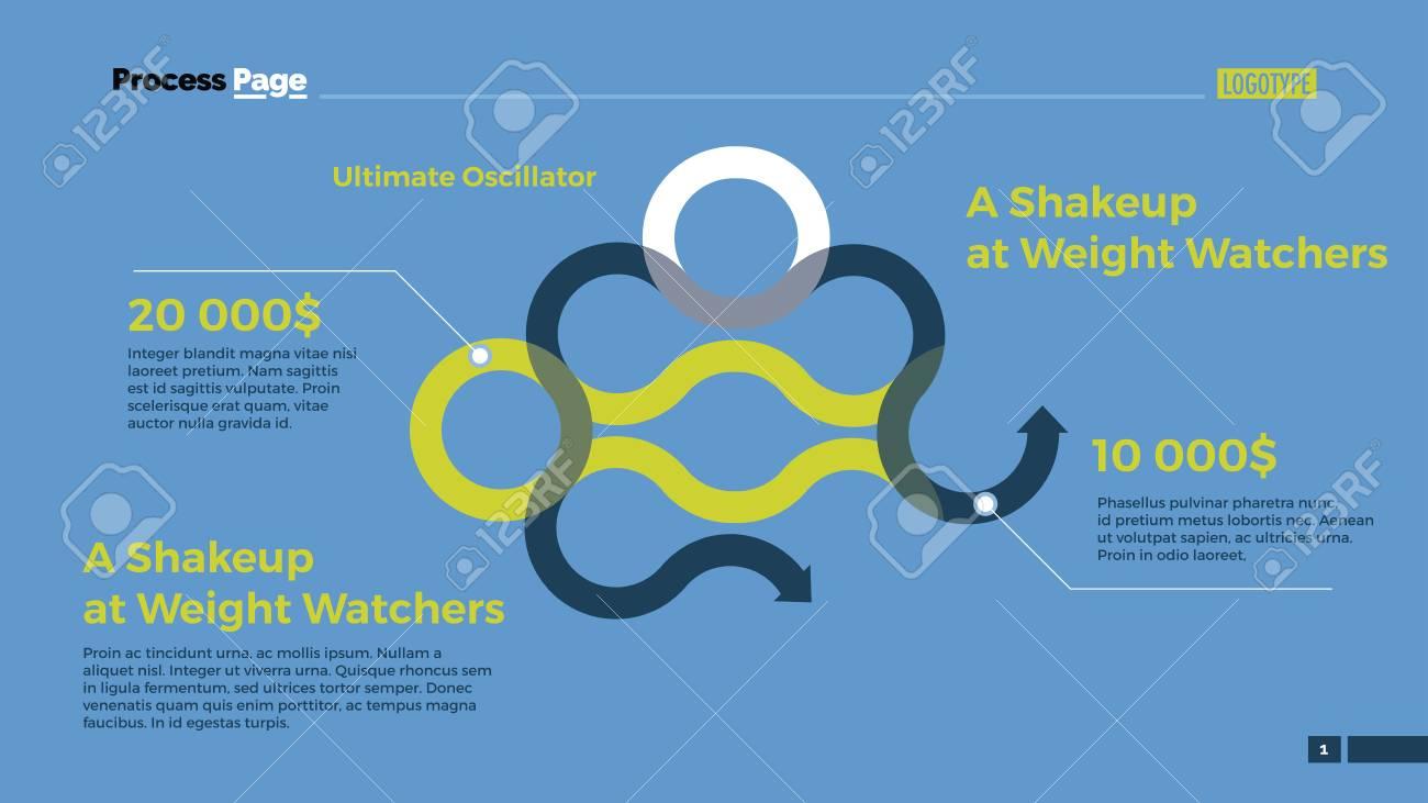 Circle Flowchart Diagram. Element Of Presentation, Arrow Diagram ...