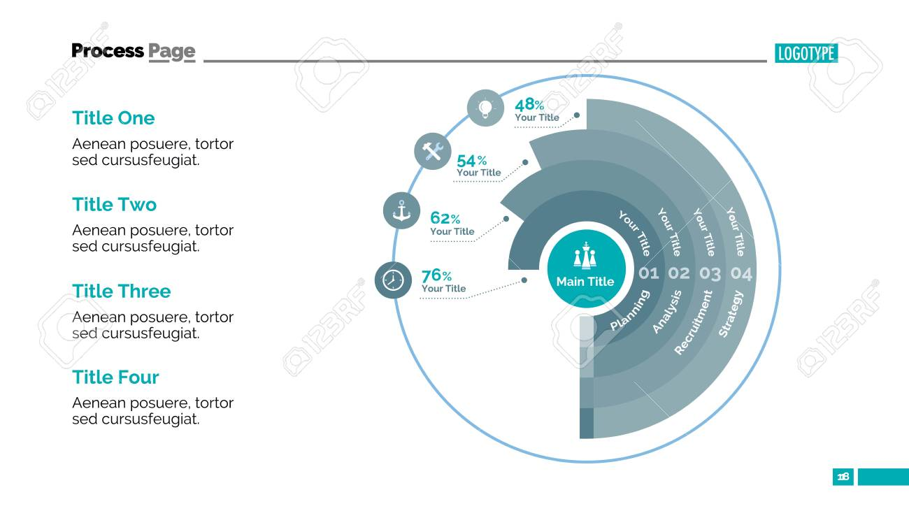 Doughnut chart slide template business data graph diagram doughnut chart slide template business data graph diagram design creative concept ccuart Gallery