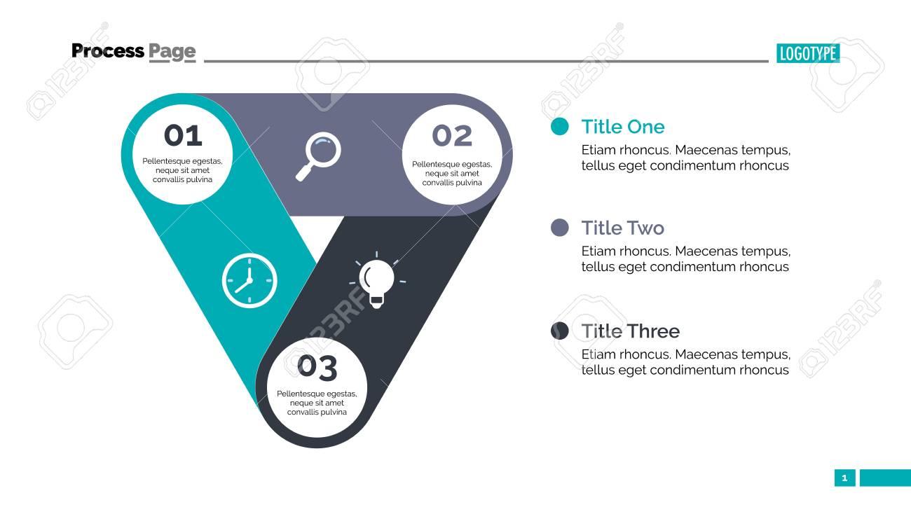 Modelo De Slide De Gráfico De Processo Dados Da Empresa Gráfico Diagrama Design Conceito Criativo Para Infográfico Modelos Apresentação