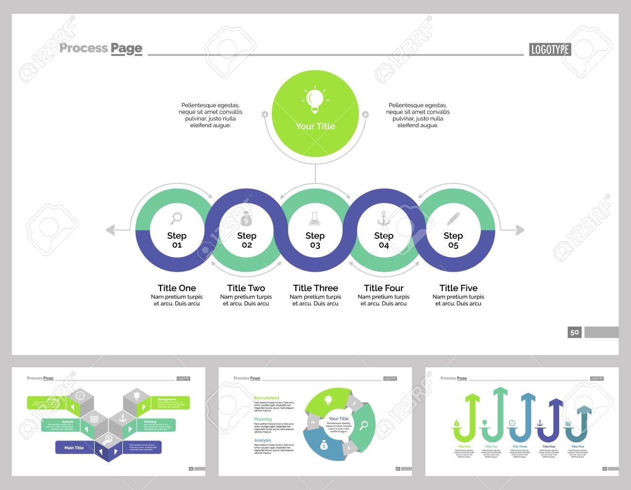 Web Design Process Flow Chart Diagram Layout Photo Stock Vector Infographic Set Can Be Used For Workflow Annual Report Presentation