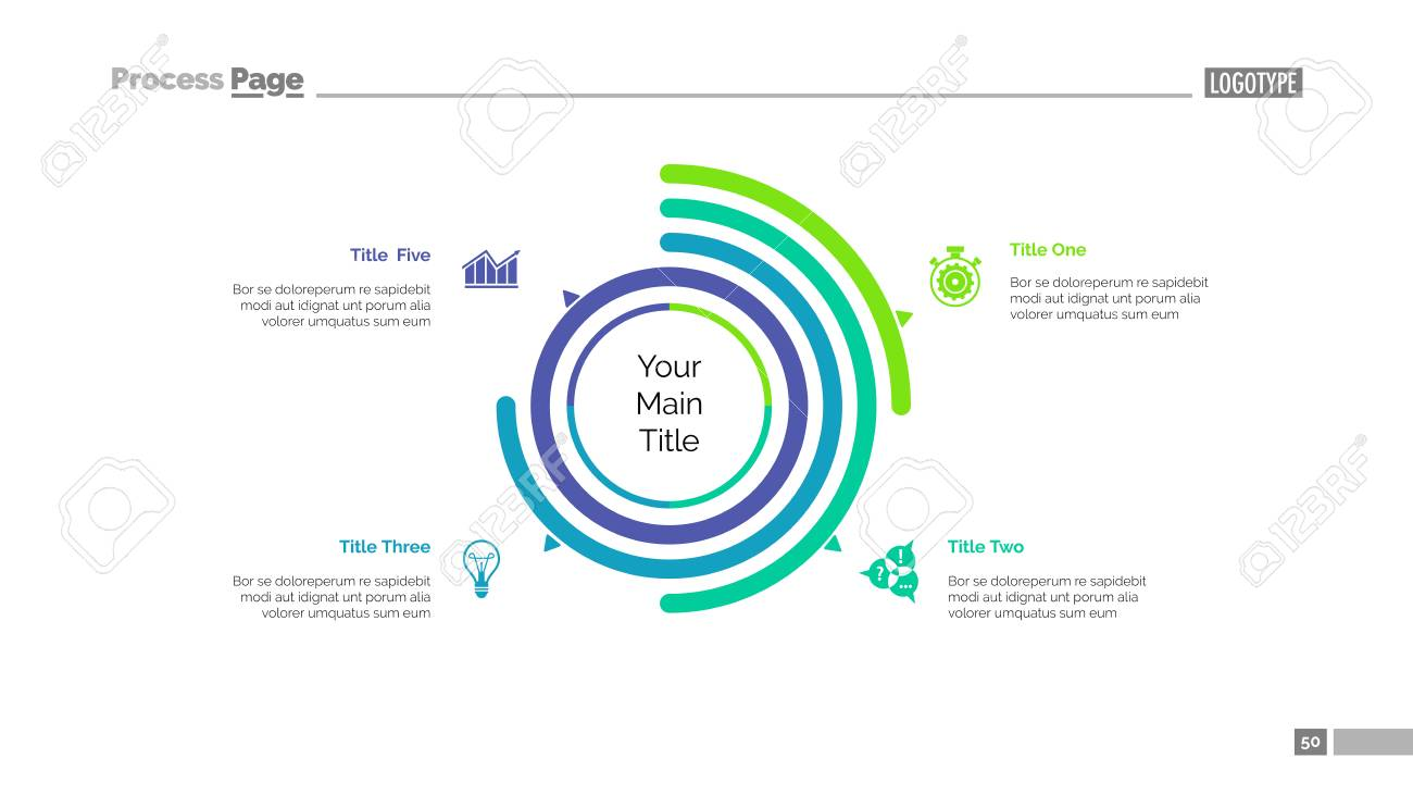 Four options doughnut chart slide template business data arc four options doughnut chart slide template business data arc diagram design ccuart Image collections