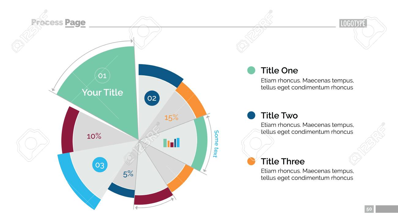 business pie chart template royalty free cliparts vectors and