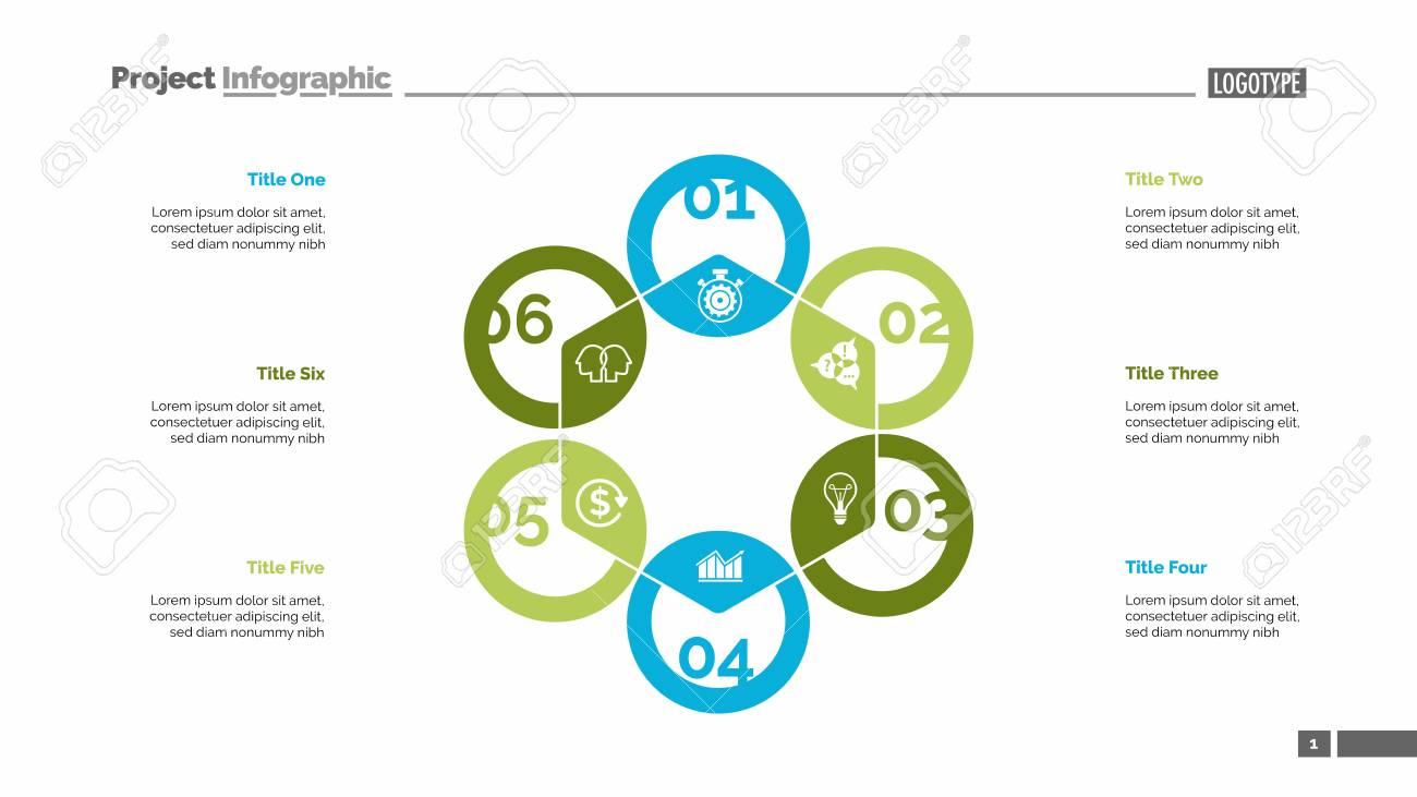 Hexagon chart  Process diagram, cycle graph, layout  Creative