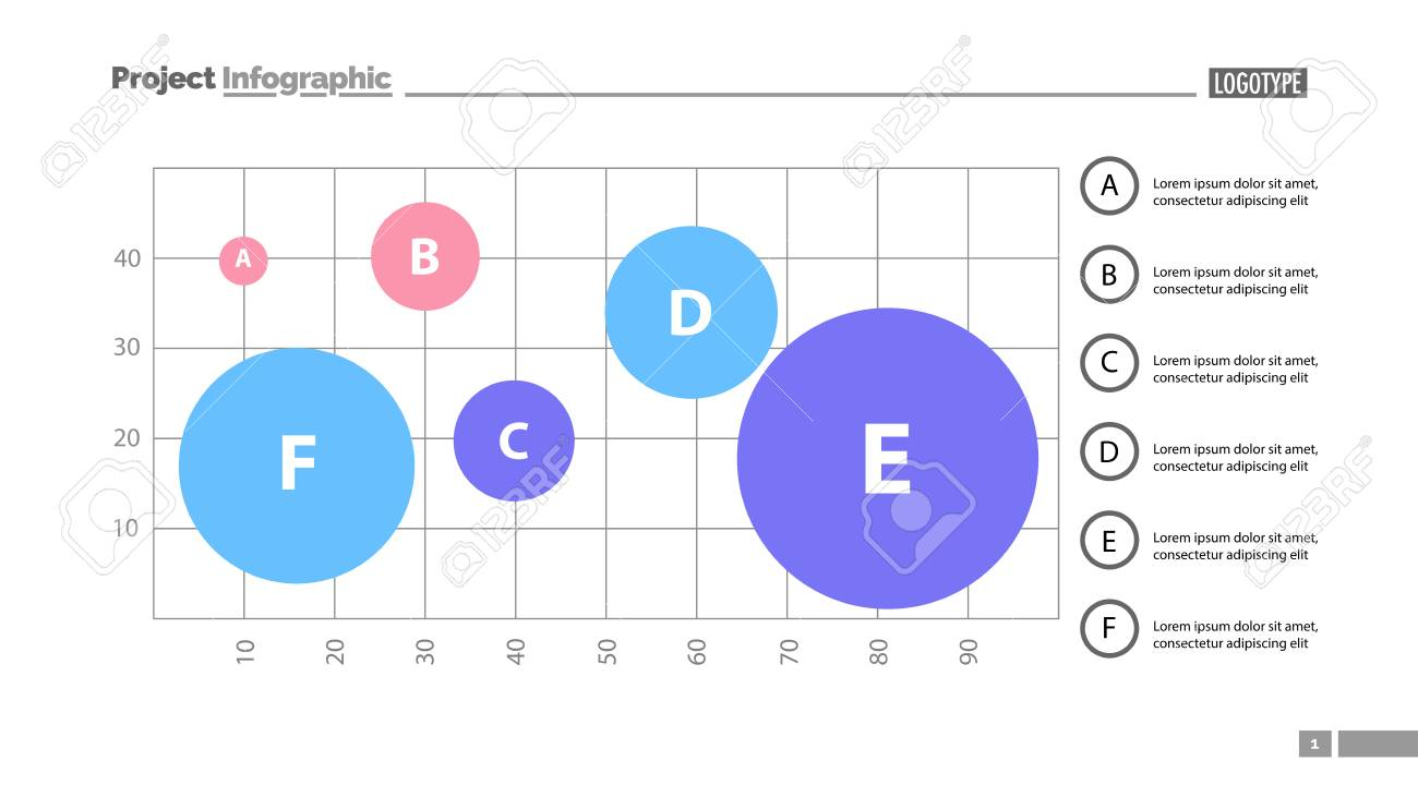 Grid Template | Six Process Elements On Grid Template Business Data Graph Chart