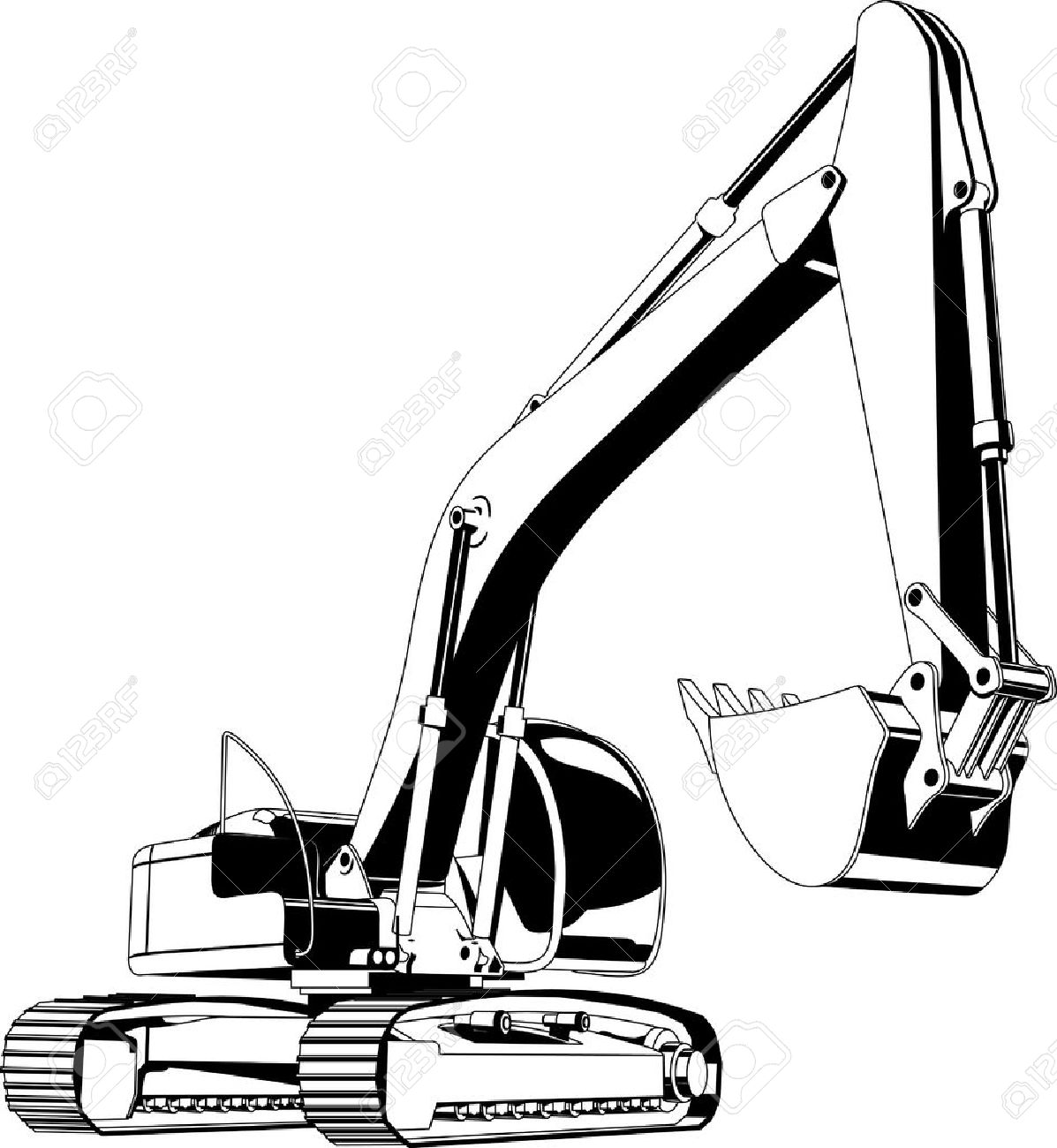 http://previews.123rf.com/images/suricoma/suricoma1001/suricoma100100002/6177502-excavator--Stock-Vector-excavator-icon-caterpillar.jpg
