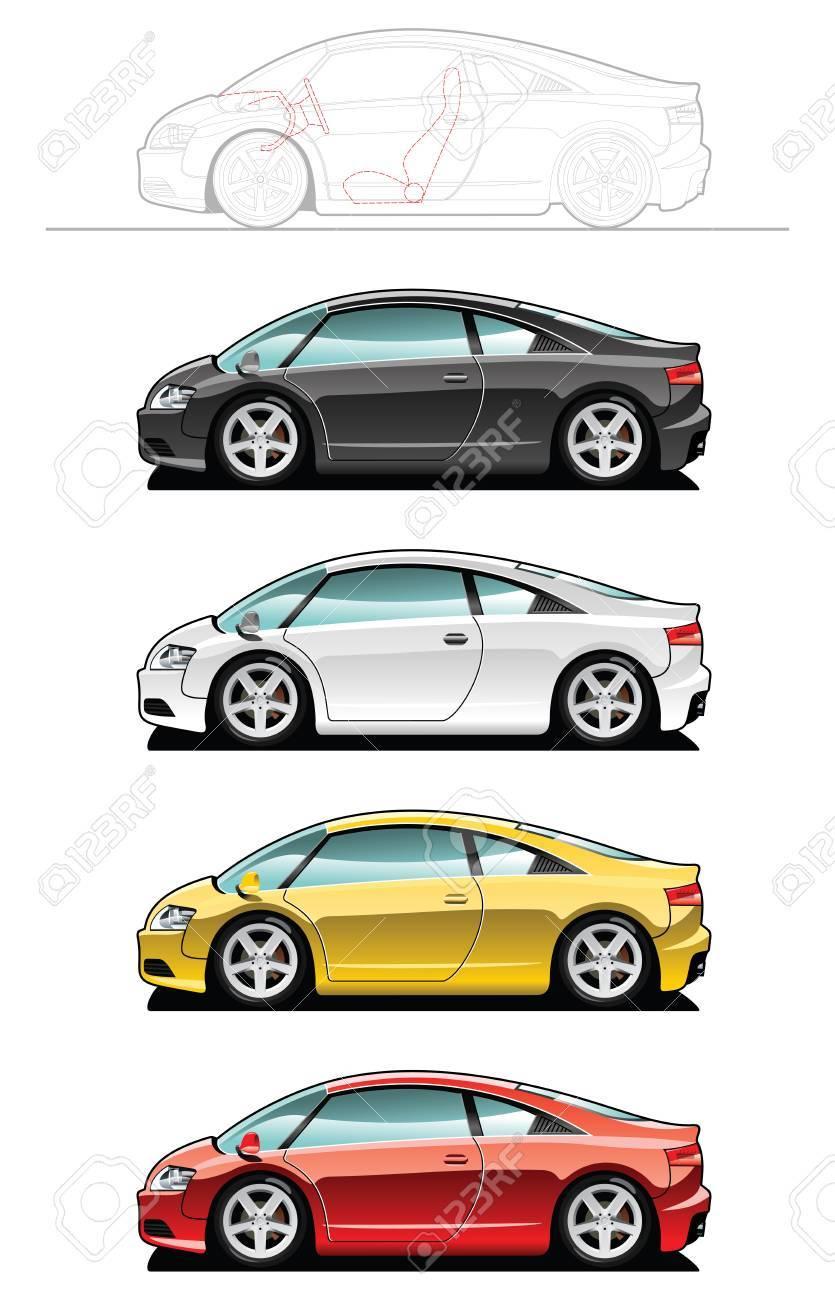Sports car - 7625725