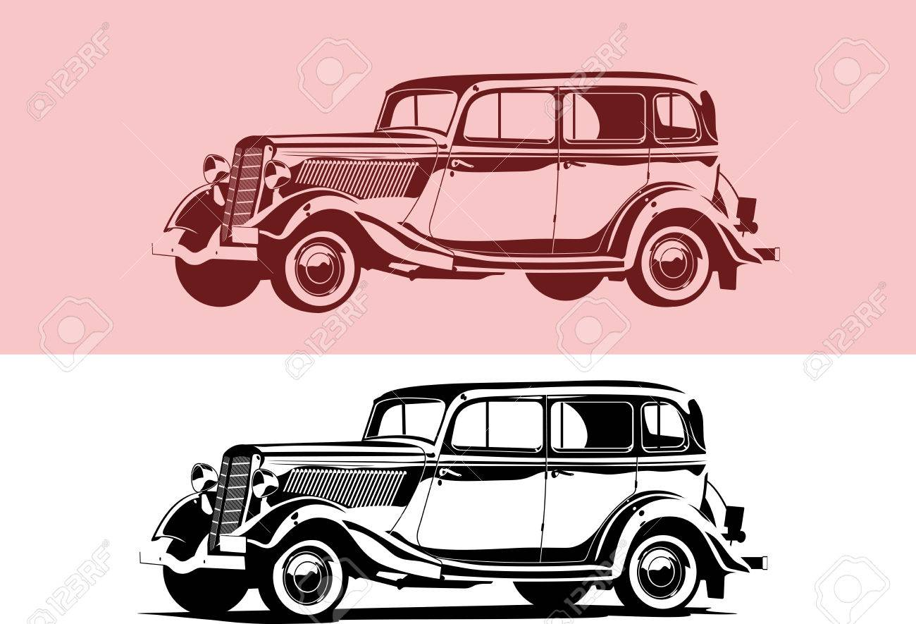 retro car - 9105881