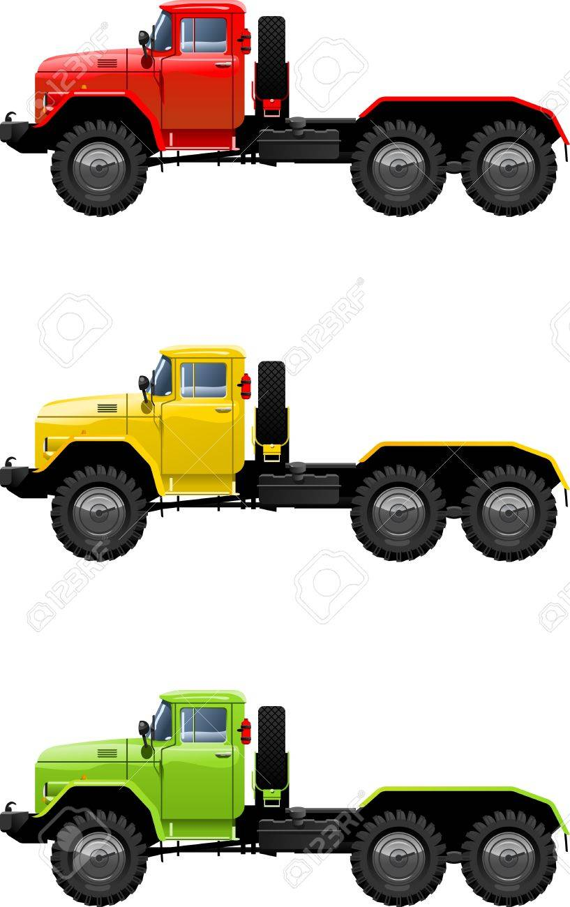 truck Stock Vector - 9452860