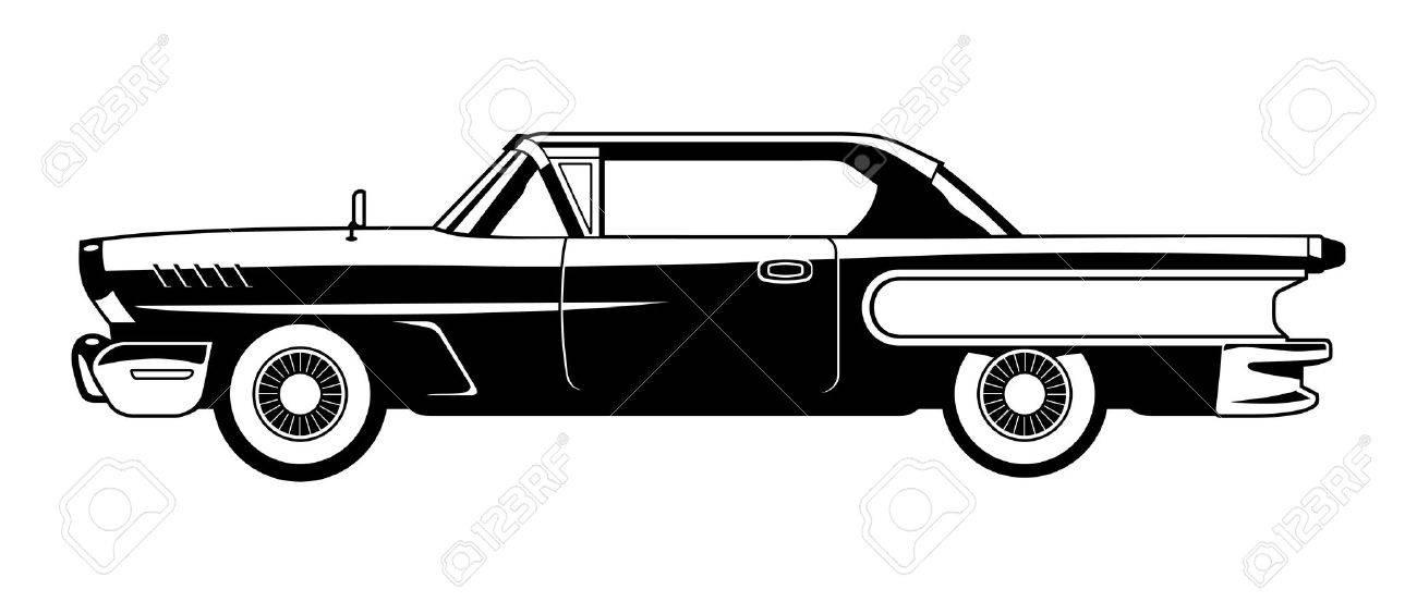 classic cars 60s royalty free cliparts vectors and stock rh 123rf com classic car vector graphics classic car vector free