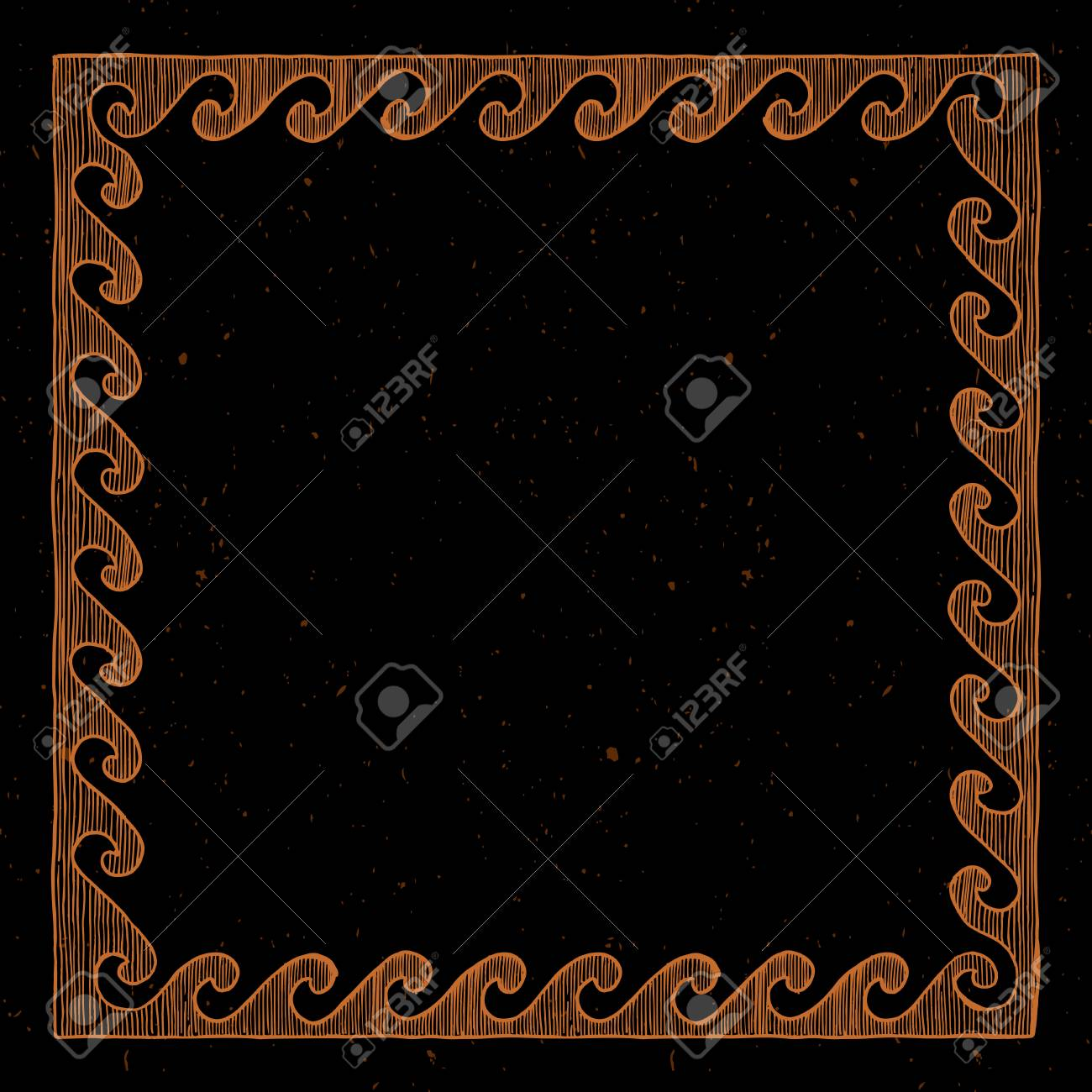 Tremendous Clay Tablet Vector Template With Ancient Greek Border In Red Figure Home Interior And Landscaping Transignezvosmurscom