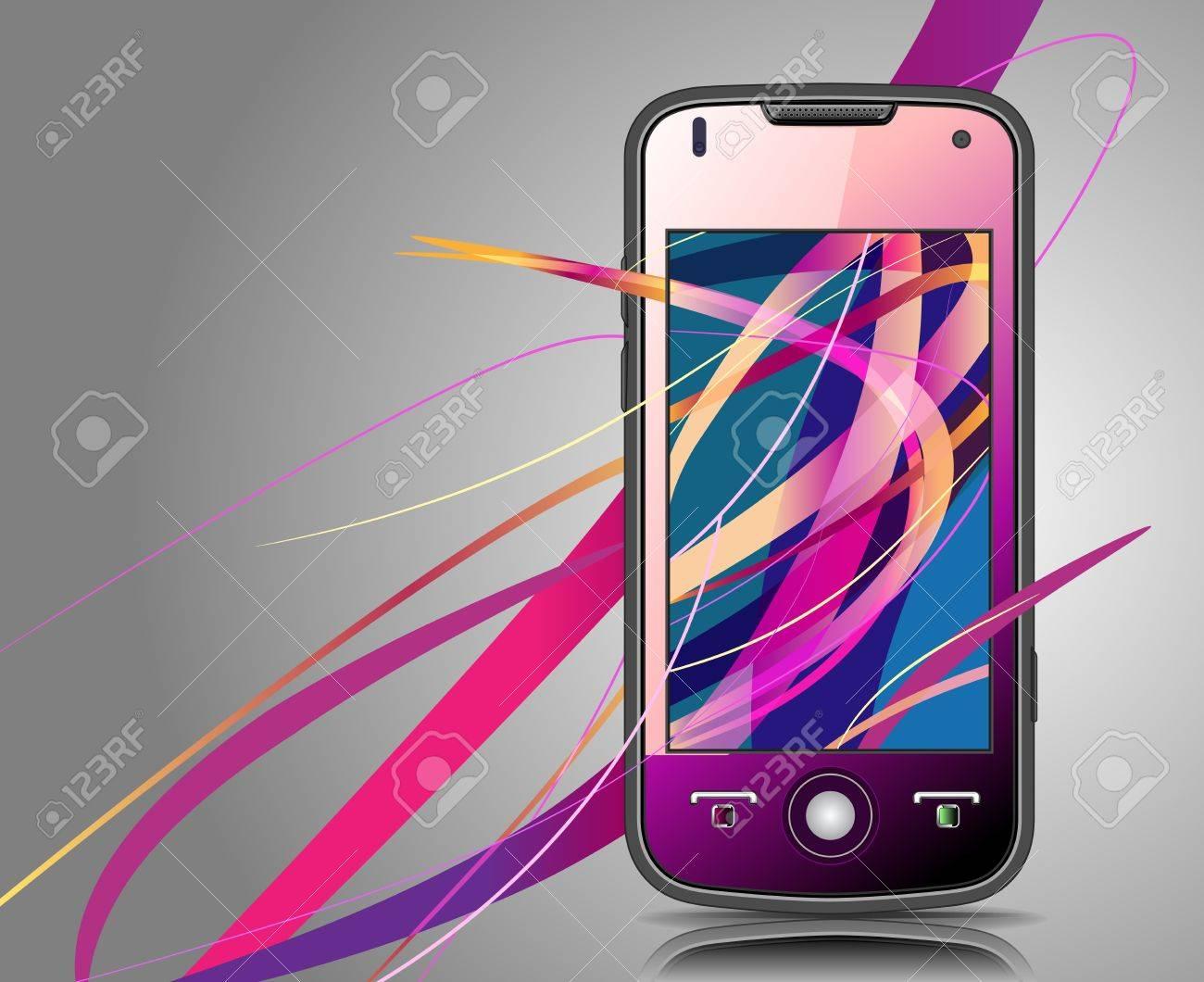 mobile Stock Vector - 8488859