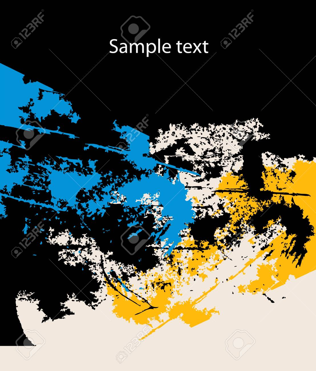 Grunge vector background Stock Vector - 9765249
