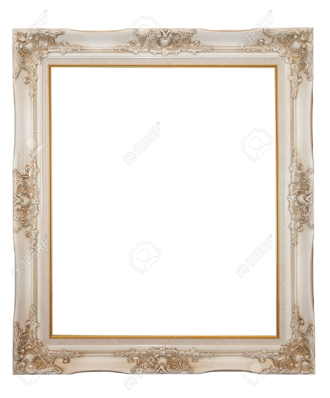 XXL Isolated: Vintage Wood Frame Stock Photo, Picture And Royalty ...