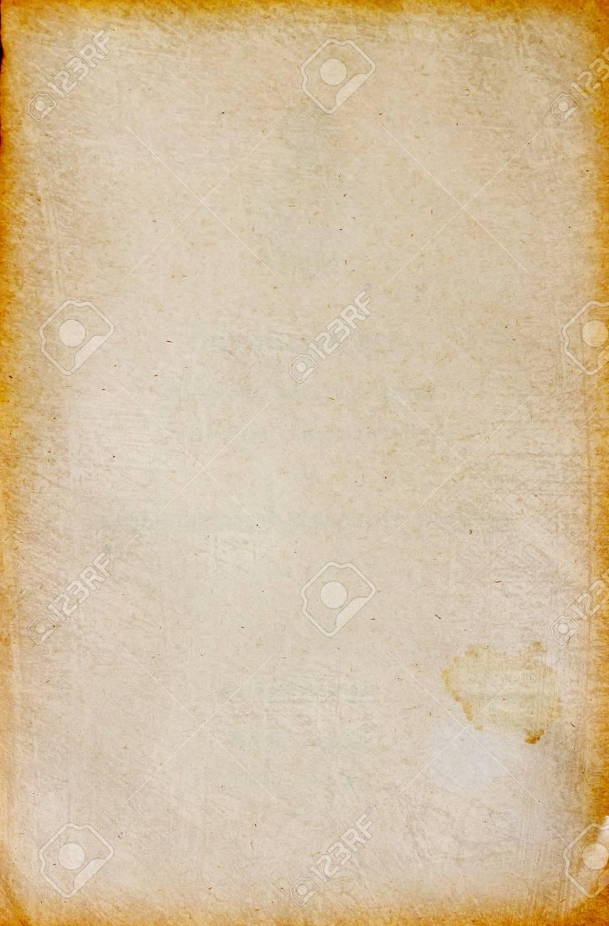 old antique vintage paper Stock Photo - 8816399