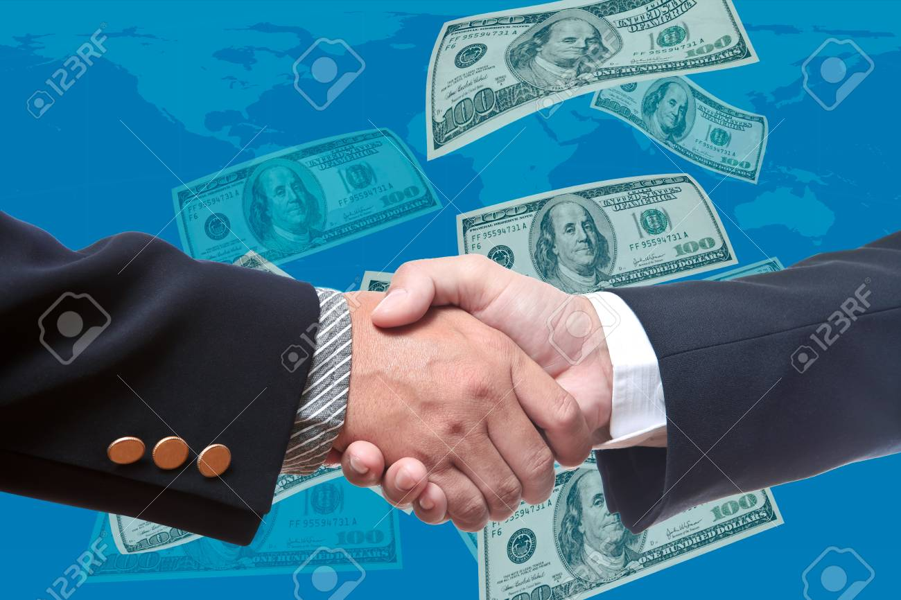 Hand of business man Stock Photo - 9520033