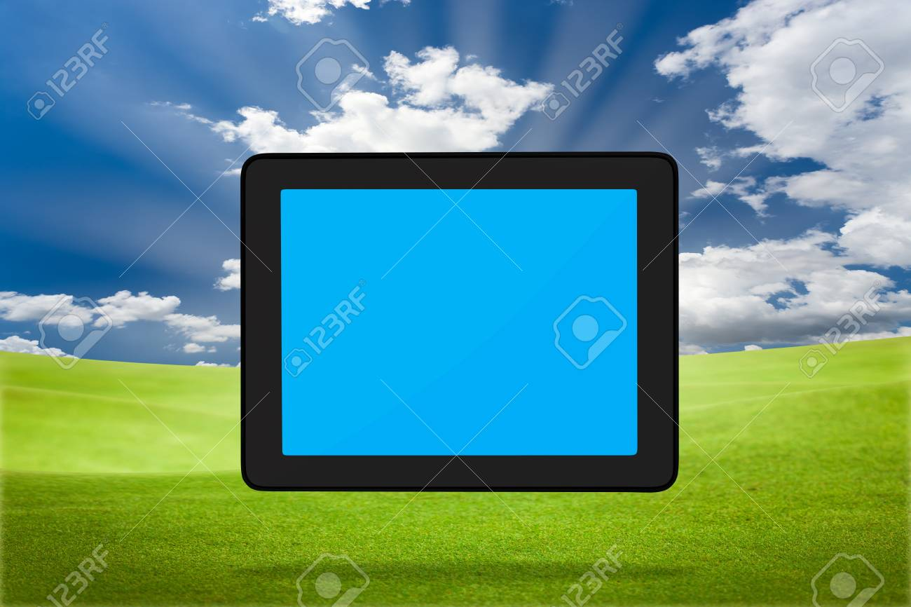 Modern tablet PC (Touch Pad) Stock Photo - 9733703