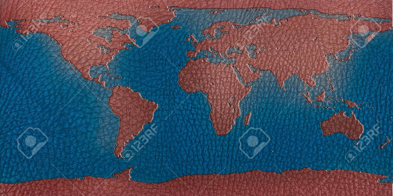 Recycle leather world map for your background stock photo picture recycle leather world map for your background stock photo 13812179 gumiabroncs Images