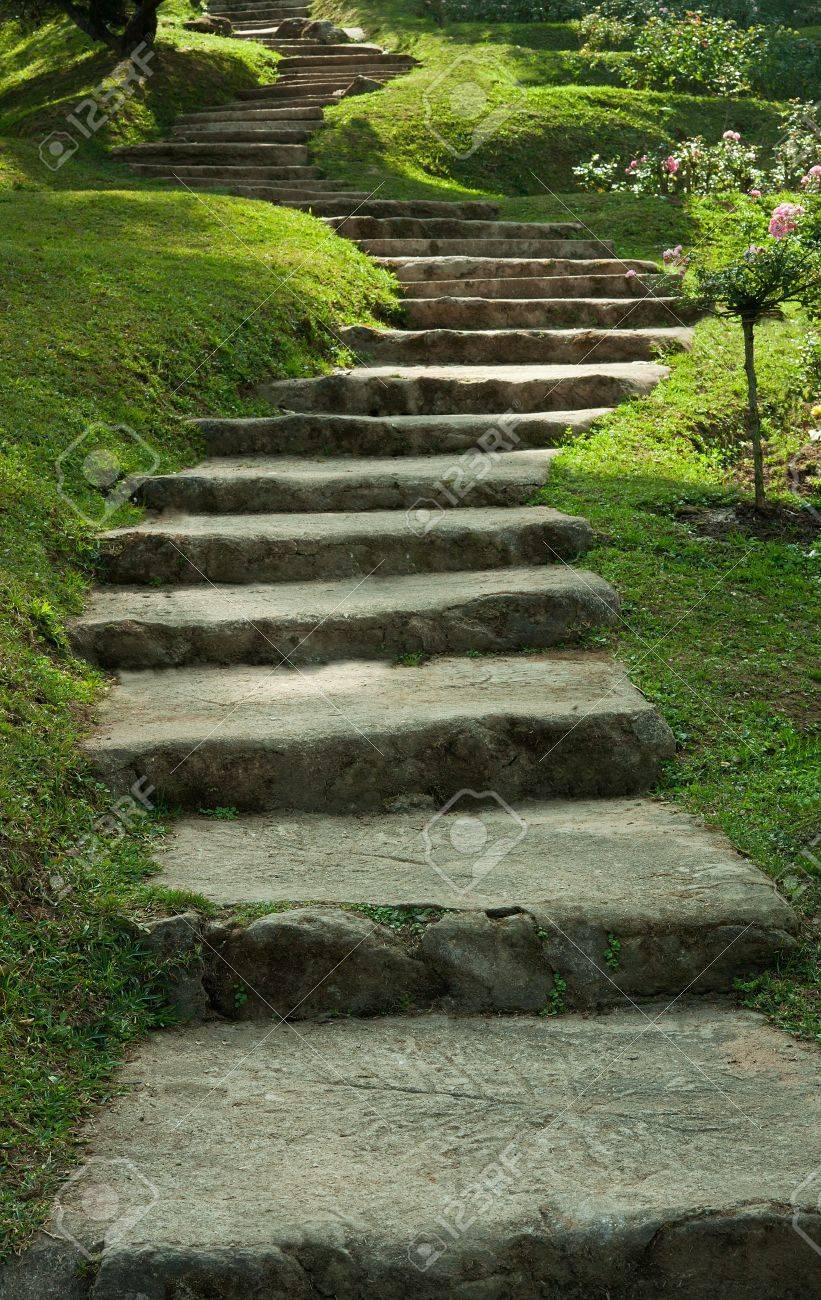 Stairway to park Stock Photo - 13812185