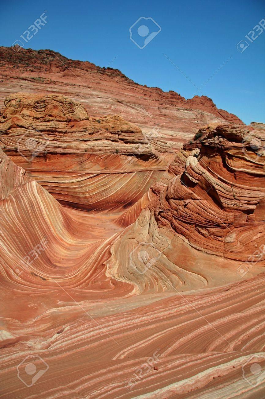 Vermilion Cliffs National Monument - Coyote Buttes - Utah / Arizona Stock Photo - 651069