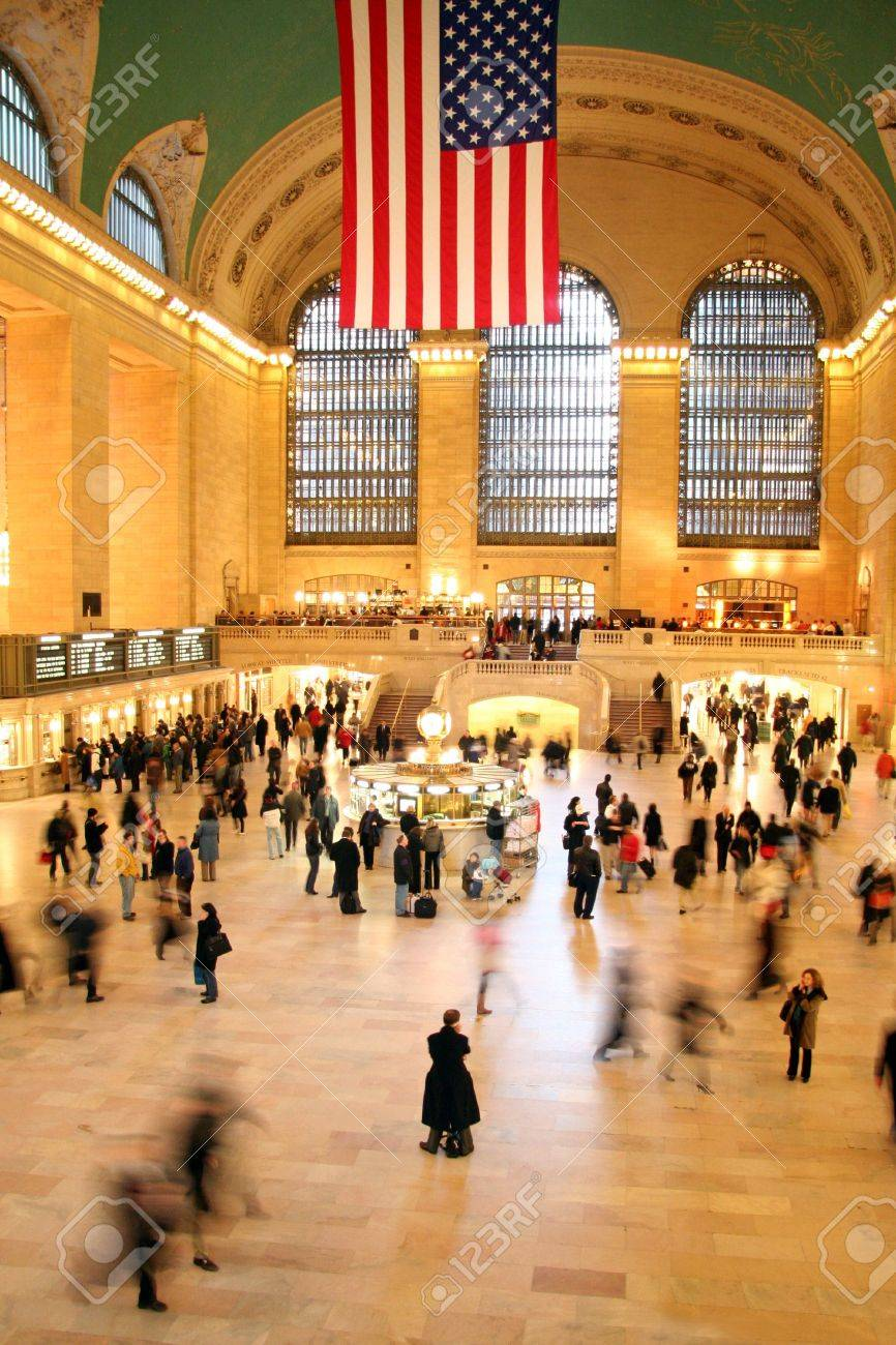 Grand Central Station in New York City Stock Photo - 801465