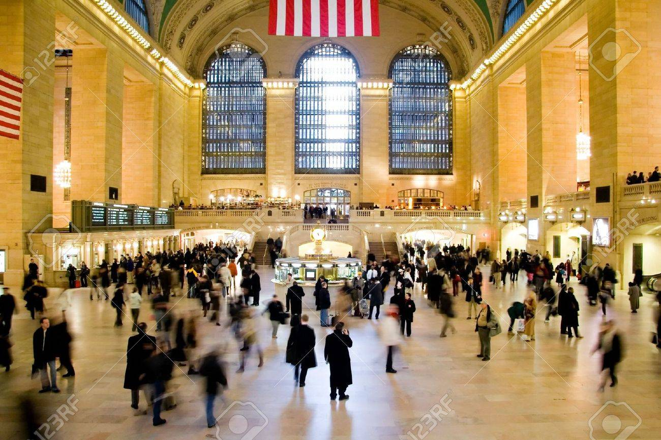 Grand Central Station in New York City Stock Photo - 801466