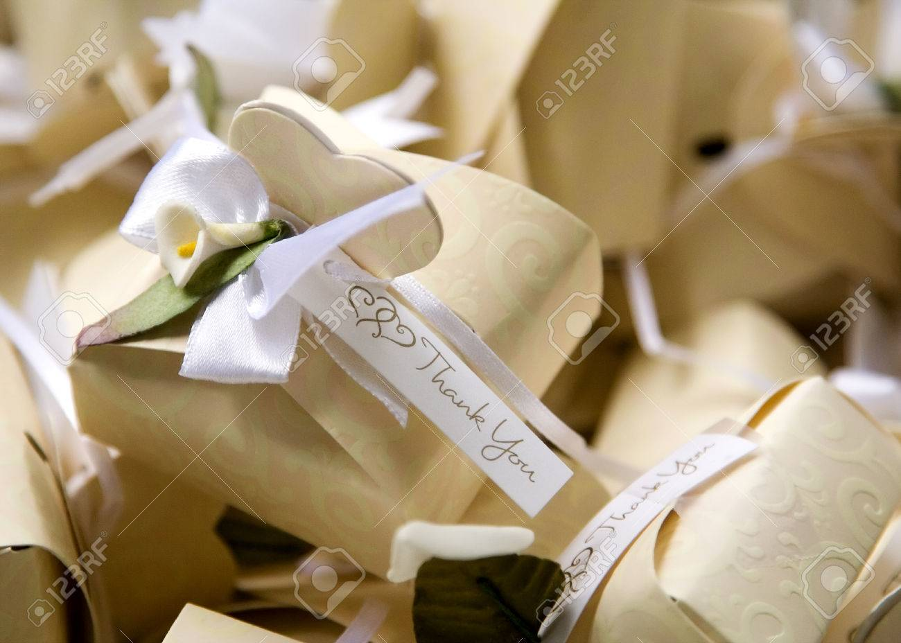 Thank You Gift Box for Special Occasions Stock Photo - 1573276