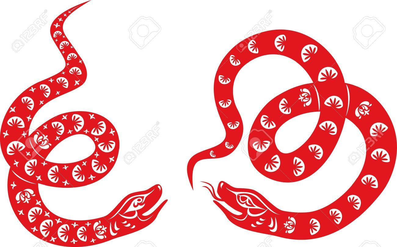 snake year 2013 chinese zodiac symbol stock vector 14851956