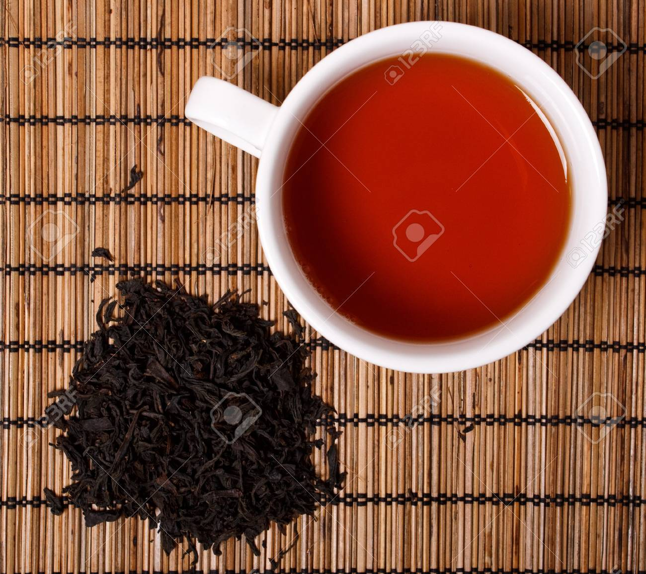 a cup of black tea Stock Photo - 7811135