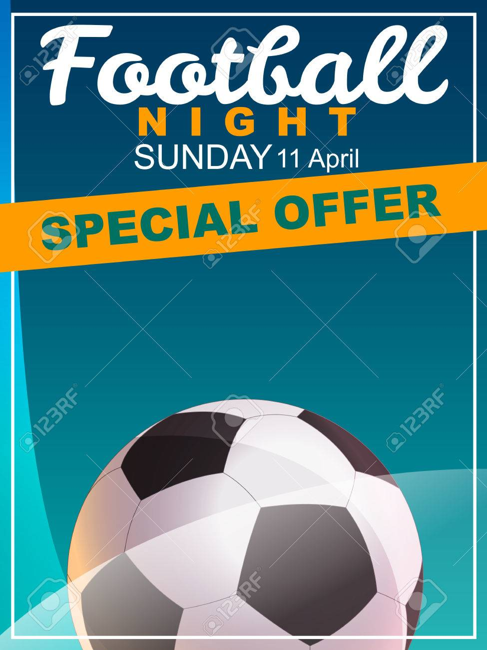 football special offer flyer royalty cliparts vectors and special offer flyer stock vector 28093352