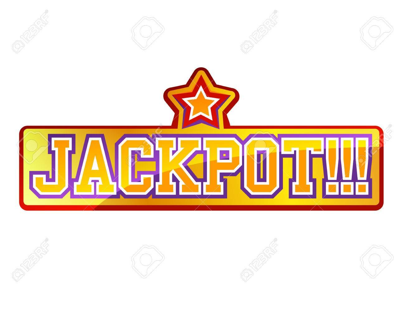 Jackpot Sign - 28417405