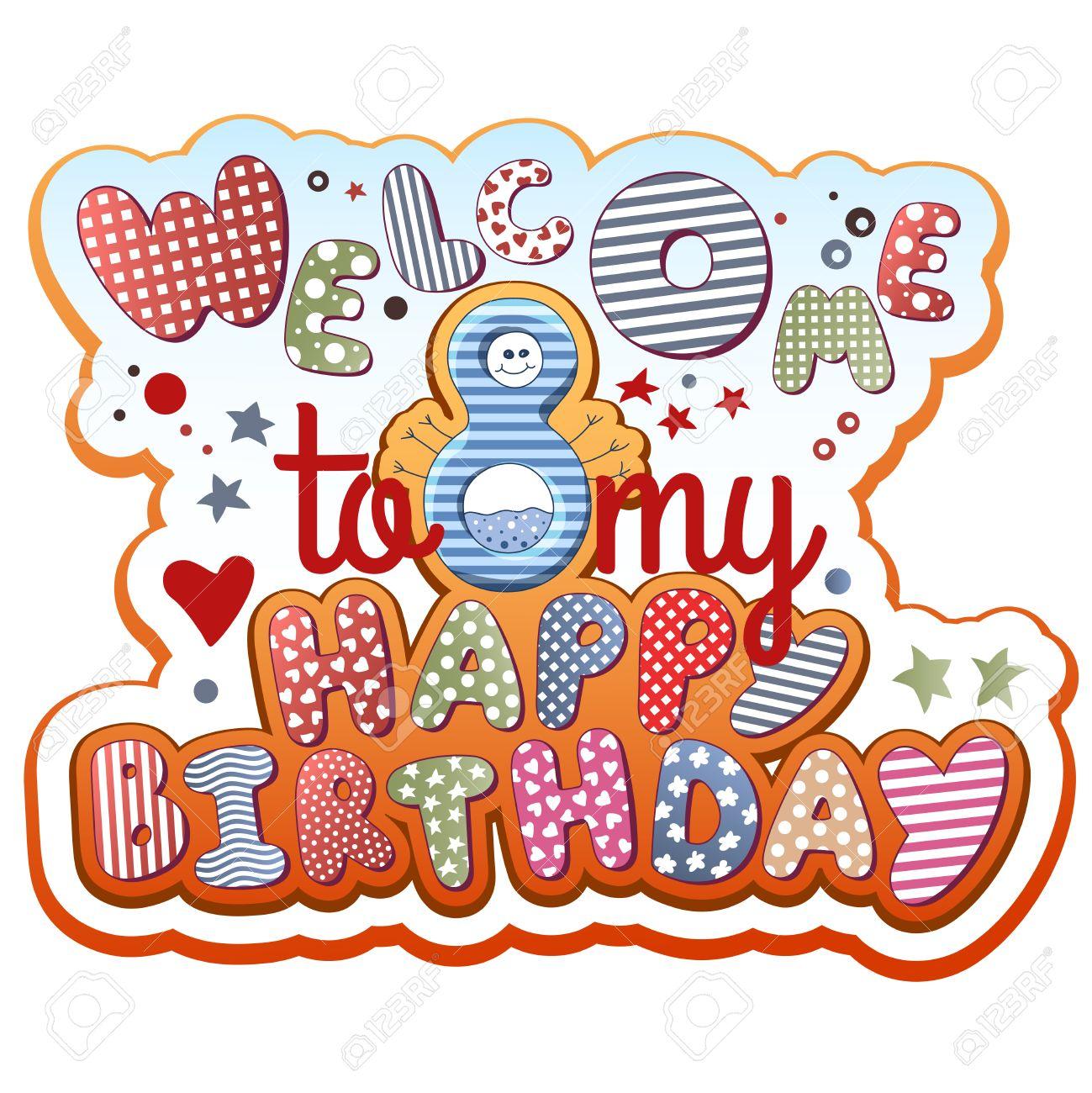 Birthday Invitation Card - 8 years old - 31772124