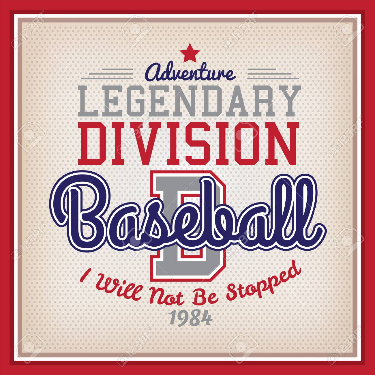 Retro Legendary Division Baseball Badge Varsity Style - 50010212