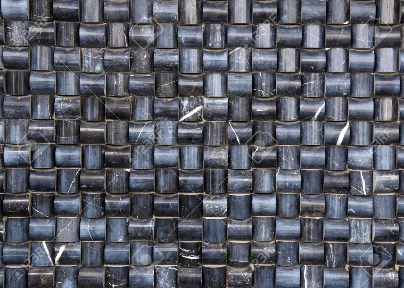 Ceramic tiles seamless geometric mosaic checked pattern