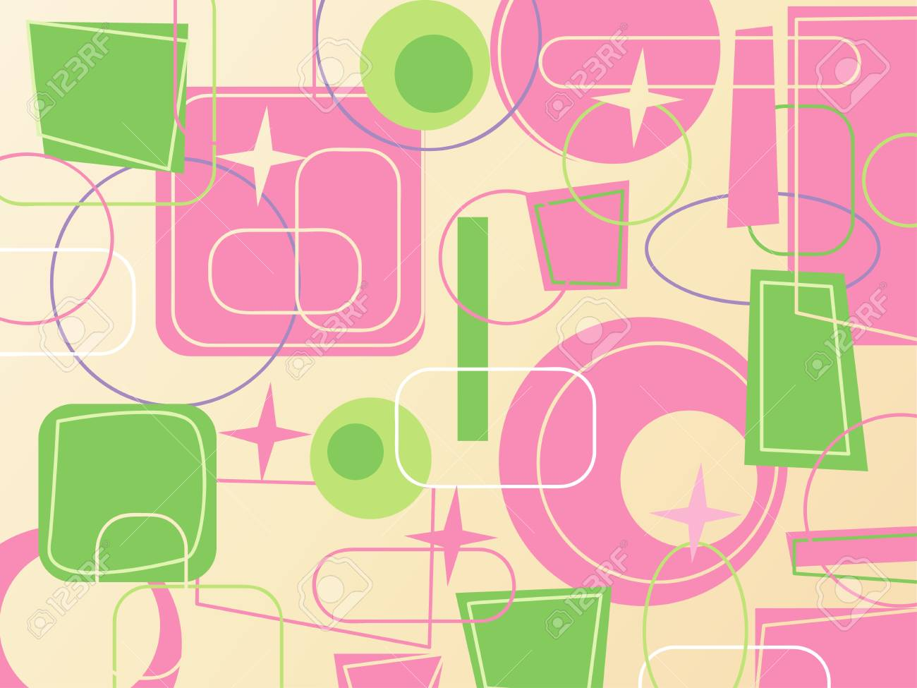 colorful retro background vector illustration Stock Illustration - 4394573