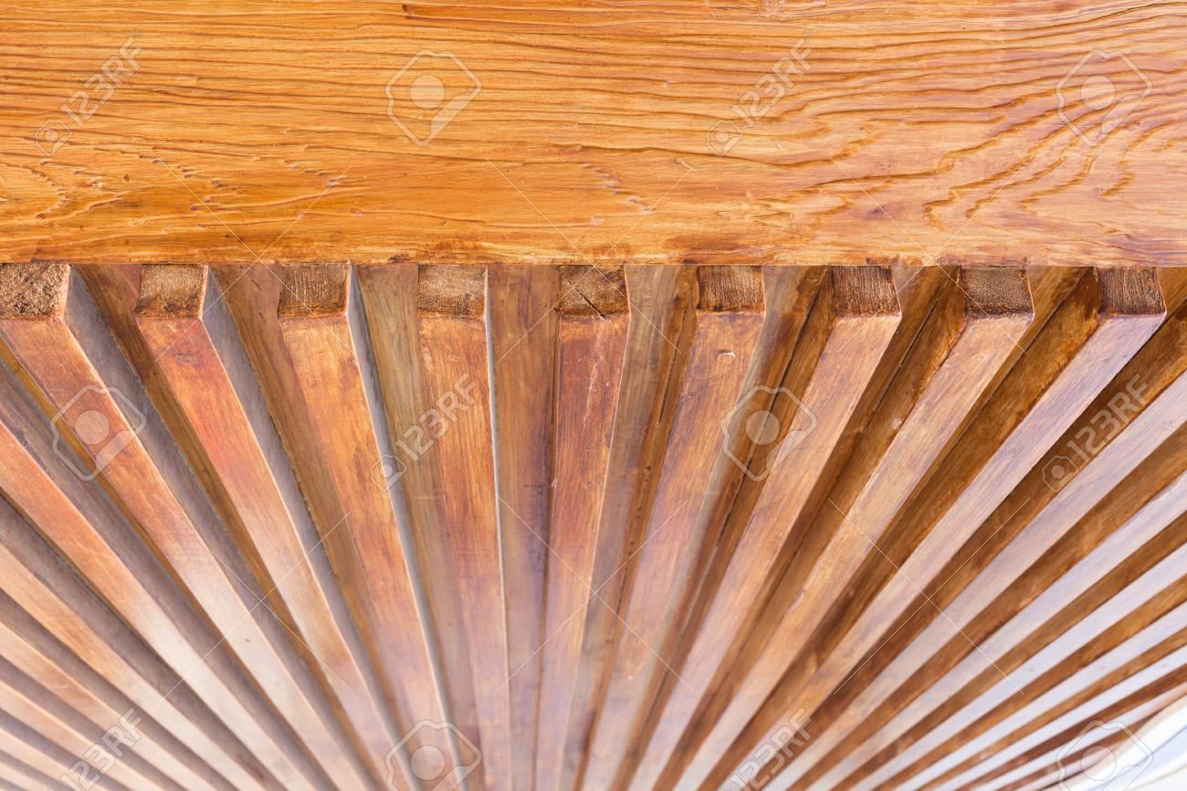 Diseno Del Techo De Madera Madera Brillante Barniz De Barra Para La - Techos-de-madera-para-interiores