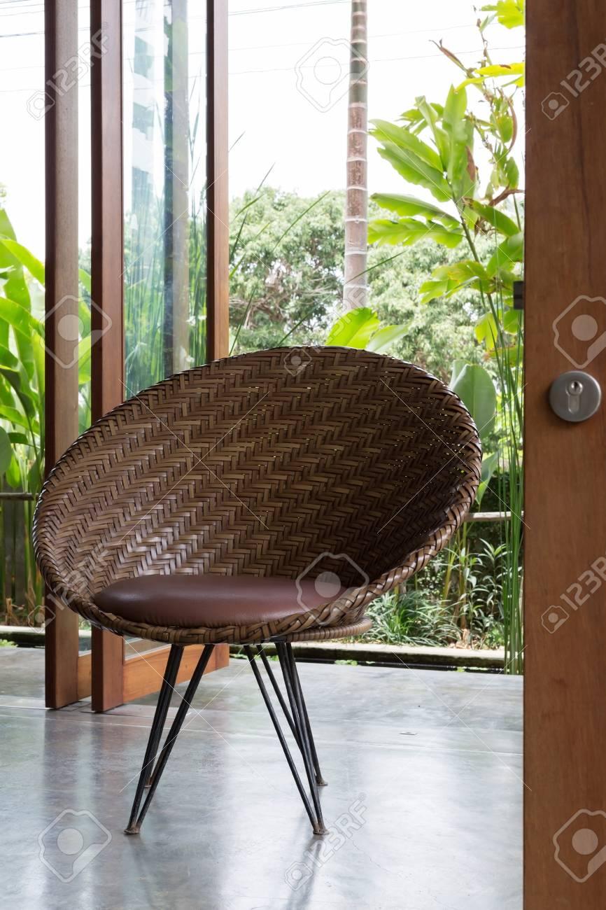 Innenarchitektur, Sofa Möbel Modernen Stil Im Wohnzimmer Mit ...
