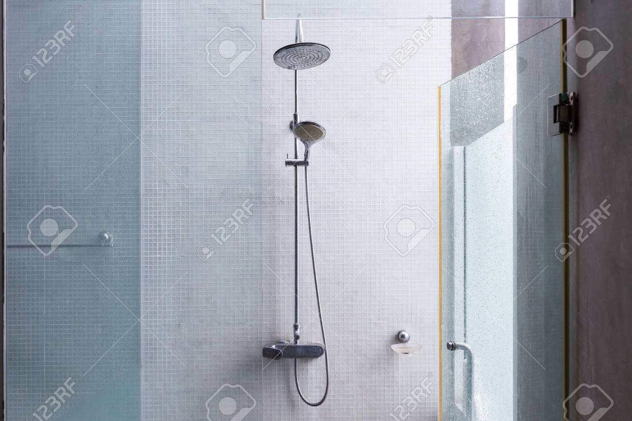 Shower Head In Bathroom, Design Of Home Interior Outdoor Bathroom ...